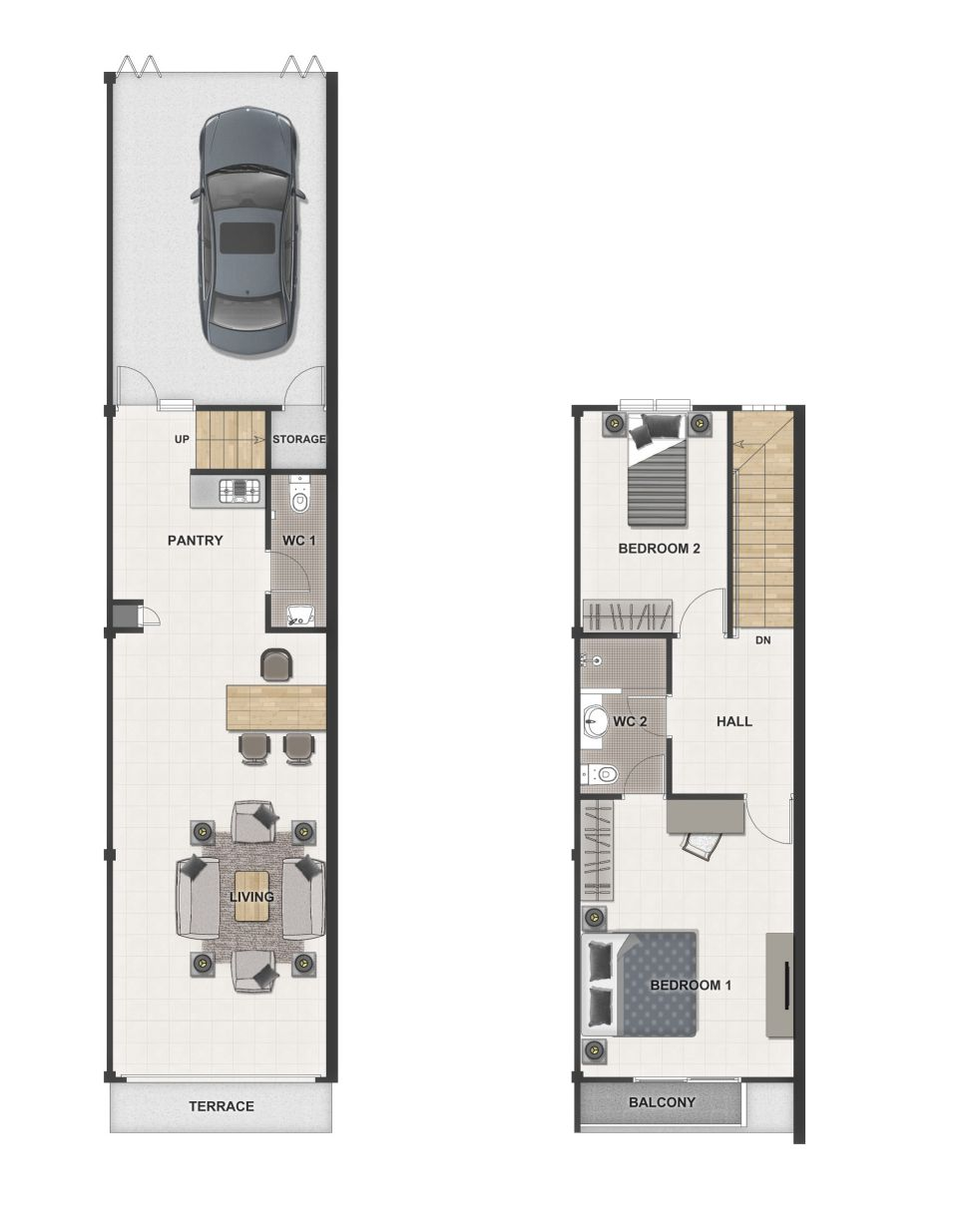 Paragon Wiangsa Floor Plan
