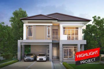 ลงเว็บ HIGHLIGHT PROJECT_บ้านสวยน้ำใส เดี่ยว2ชั้น